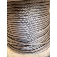 China AISI 304 Stainless Steel Wire Rope 1x19 for Lifelines ad Fall Protection System on sale