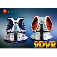 Egg Cinema 10d Visual Reality Simulator with Attaractive Appearance For Amusement Park Manufactures