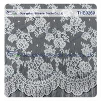 Countless flowers  3*1.5m size  100% nylon chantilly lace fabric for Wedding dress Manufactures