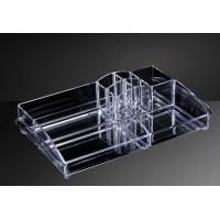 OEM Custom Acrylic Products , Hot Bending Acrylic Cosmetic Display Stand Manufactures