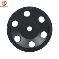 Buy cheap 5 Inch PCD Diamond Floor Grinding Cup Wheels for Polishing Concrete from wholesalers