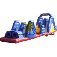 Giant Advertising Inflatable Obstacle Course Custom For Children Manufactures