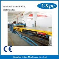 China Factory Price Factory Price Discontinuous Sandwich Panel Production Line, PU foam machine on sale