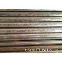 OD 19.05 x 1.65MM Admiralty Seamless Brass Tube BS 2871 CZ111 EN CW706R Manufactures