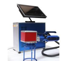 Optical Lenses Laser Printing Portable Laser Engraver For Serial Number Manufactures