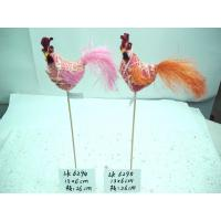 Handmade cock,Size13×6×26:cm,High quality with competitive price,Easter Ornaments and gifts Manufactures