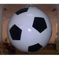 High - Strength Advertising Inflatable Football Helium Balloon For Out Door Use