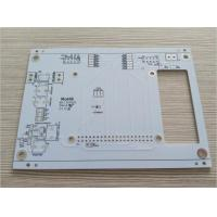 "White Soldmask Electronic Printed Circuit Board 2oz Copper HASL Lead Free 0.063"" Thickness Manufactures"