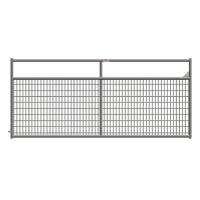 Weather Resistant 10 Ft Metal Farm Gate, Wire Filled Steel Tube Farm Gates Manufactures