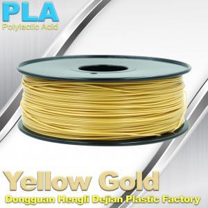 Stable  Performance 1.75mm PLA 3D Printer Filament Temperature 200°C  - 250°C Manufactures