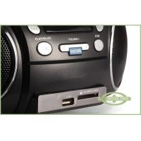 Digital LCD Display Portable DVD Radio Player 3.5mm AUX-in / Line-in Jack ( Optional )