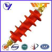 Professional Switching Red Polymer Surge Arrester 54KV in Substation Manufactures