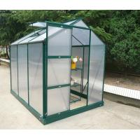 sinolily (6X10FT) twin wall greenhouse with top window Manufactures