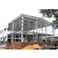 Customized Prefab Steel Frame Industrial Buildings Easy Erection For Warehouse Manufactures