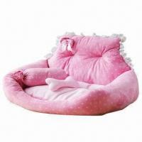 China Pet Bed, Available in Pink, Green, Yellow Colors on sale