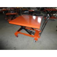 China Heavy Duty Caster Mini Scissor Lift Table For Logistic PT500B With CE on sale