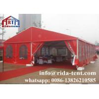 China Professional Marquee Tent Wedding / Tempered Glass Garden Party Tent on sale