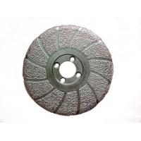 China Vacuum Brazed Metal Bonded Diamond Grinding Wheel For Concrete / Masonry Surface on sale