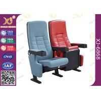 High Back Movie Theater Chairs Genuine Leather Cinema Seats Sofa Ultra Strong Manufactures