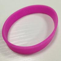 Different types of silicone bracelets with glitter / bracelets with panic button Manufactures