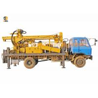 DTH Hydraulic Truck Mounted Water Well Drilling Rig 140 - 450mm Drilling Diameter Manufactures