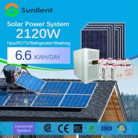 3000W  Solar Home System Power Inverter Pure Sine Wave Battery Power Supply Solar Power System Manufactures