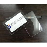 Business Card Acrylic Display Stands For Price Tag Display , Personalized Manufactures