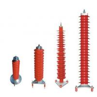 Buy cheap 10-500kV Station Class Surge Arrester / Polymer Surge Arrestors IEC ANSI from wholesalers