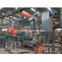 Industry Waste Tyre Recycling Machine Easy Access Screen With CE Approved Manufactures