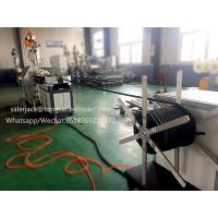 single wall corrugated pipe extruder machine/manufacturer in China Manufactures