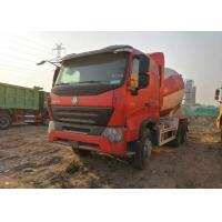 China HOWO Heavy Duty Concrete Mixer Truck Cement Mixer Truck 10 Wheels Euro IV Standard on sale