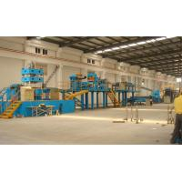 China Light Weight Aluminum Sheet Continuous PU/EPS Sandwich Panel Production Line With 3-6m/min on sale