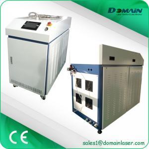 300W 500W Portable Laser Welding Machine With Welding Gun / 3P Water Chiller Manufactures
