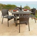 outdoor rattan dining set Manufactures
