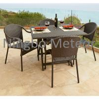 outdoor rattan dining set Manufactures