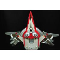 Deformation Transformer Plane Toy Customized Color Eco - Friendly ABS Material