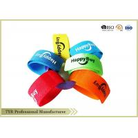 Nylon Cable Management Hook And Loop Cable Ties Coloured Custom Manufactures