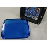 Blue Cover For Cube Pods Car Lighting Accessories 12V 2 X 2 LED Manufactures