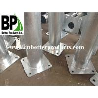 Outdoor SS 304 316 fixed posts stainless steel metal bollards Manufactures