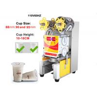 110V Paper / Plastic Cup Sealing Machine American And European Standard Manufactures