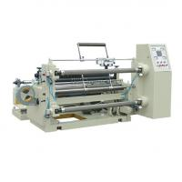China High Effective CPlastic Film Slitting Machine Speed 0-200m/Min Stable Performance on sale