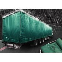 China 200gsm Weignt Geomembrane Pond Liner PE Tarpaulin Roll Green Color For Truck Cover on sale
