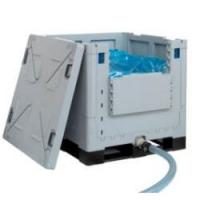 Folding Plastic IBC Container 1060Ltr Lightweight With Bag In Box Technology Manufactures