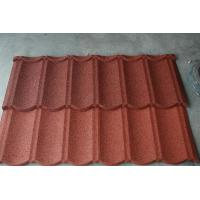 Durable roofing materials Steel Roofing Tiles for construction , Aluminum Zinc Alloy Coated Steel Manufactures