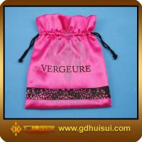 China velvet fabric gift bags on sale