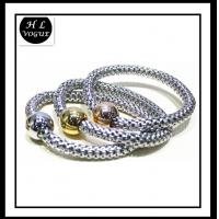 2014 new fashion design stainless steel bracelet earring set,necklace set Manufactures