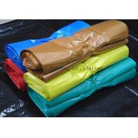 Recyclable Supermarket Custom Printed Plastic Shopping Bags With Handles Multi Color Manufactures