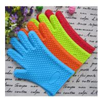 China five finger silicone gloves ,silicone oven mitt with five fingers on sale