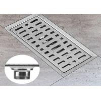 China Insulation Linear Shower Floor Drain No Secondary Pollution With Safe Lead Free Materials on sale