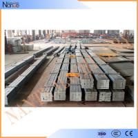 Cold / Hot Rolled Steel Crane Rail , Crane Square Billet With High Strength Manufactures